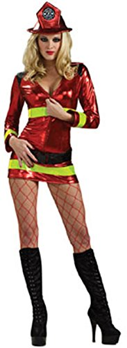 Adult's Women Small 6-9 Sexy Firefighter Girl (Ladies Firefighter Costume)