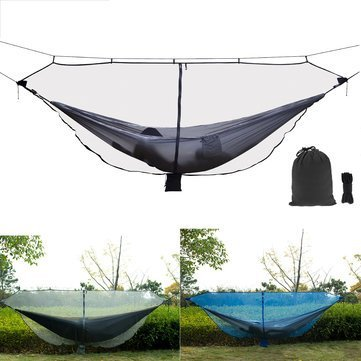 Camp Bedding Hammock & Accessories - Outdoor Double Mosquito Insect Bed Net Nylon Gauze Protection - 1 x Hammock Mosquito Net Note:, Hammock is not included.