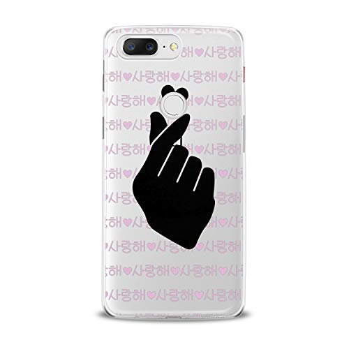 Lex Altern TPU Case for OnePlus 7 Pro 6T 6 2019 5T 5 2017 One+ 3 1+ Kpop Music Heart Flexible Cover Soft Lightweight Print Trendy Girly Smooth Black Audio Slim fit Design Clear Boy Korean -