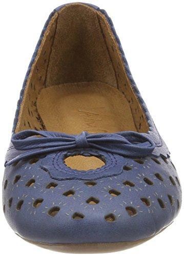 Andrea Conti Damen 0499206 Geschlossene Ballerinas Blau (Dunkelblau)