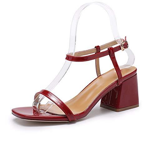 Dita Le Claret 37 Spesso I Apri Sandali Alti Scarpe Touch Con I da donna Sandali 7Cm Tacchi Multi KPHY pqXFHwx