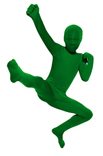 Child's Green Second Skin Suit, -