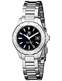 TAG Heuer Women's WAY1410.BA0920 Aquaracer Analog Display Quartz Silver Watch