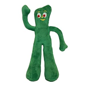 Multipet Gumby Plush Filled Dog Toy, 9-Inch Click on image for further info.
