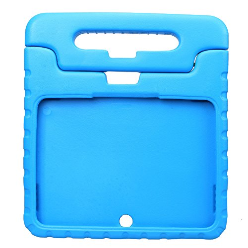 NEWSTYLE Samsung Galaxy Tab 4 10.1 Shockproof Case Light Weight Kids Case Super Protection Cover Handle Stand Case for Kids Children For Samsung Galaxy Tab 4 10.1-inch (Blue) (Best Samsung Galaxy 4 Case)