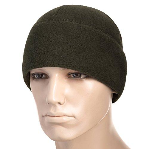 M-Tac Skull Cap Fleece 330 Slmtex Winter Hat Mens Military Watch Tactical Beanie (Olive, Medium) - Patrol Watch Cap