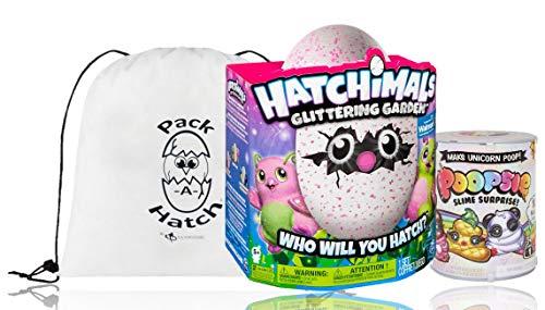 Poopsie Glittering Garden Burtles W/ Unicorn Slime and Pack A Hatch