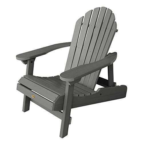 Highwood AD-CHL1-CGE Hamilton Adirondack Chair, Adult, Coastal Teak (The Best Adirondack Chair Review)