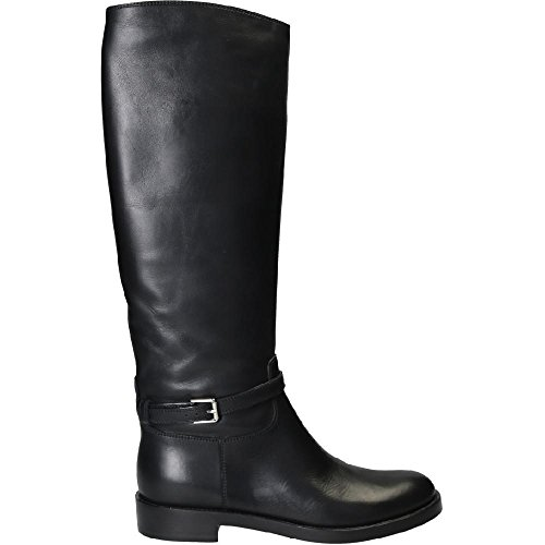 Black Horse 20CUO Black VIPNERO High Rossi Knee G80946 Number Boots Model Leather Gianvito 5vwSxgx