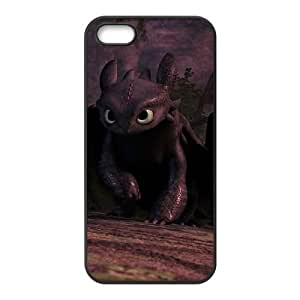 How to Train Your Dragon IPhone5 5S Phone Case White Black Christmas Gifts&Gift Attractive Phone Case HLS5W0124026