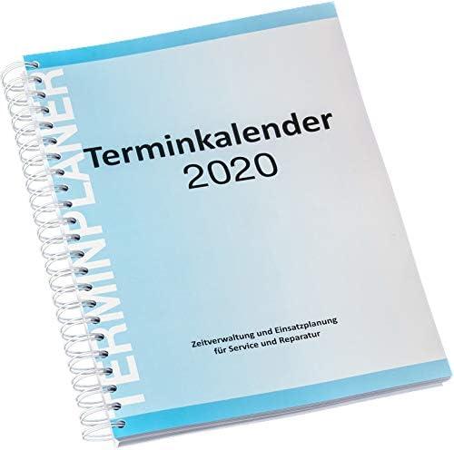 Terminplaner 2020 mit Spiralbindung, VE 1 Stück
