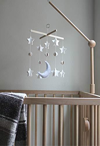 Amazon.com: Móvil para cuna de bebé de Sorrel & Fern- Moon ...