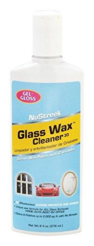 (Gel-Gloss NS-8 8 Oz No Streek Glass & Silver Polish (3))