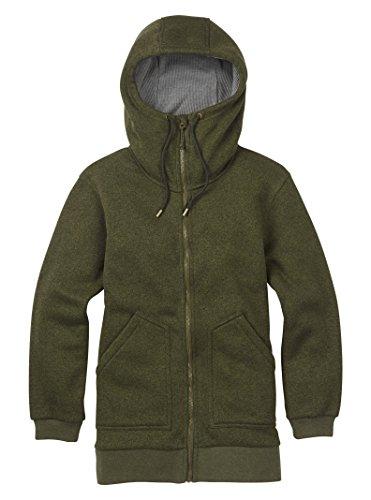 Burton Women's Minxy Fleece Sweaters, Forest Night Heather, Large -