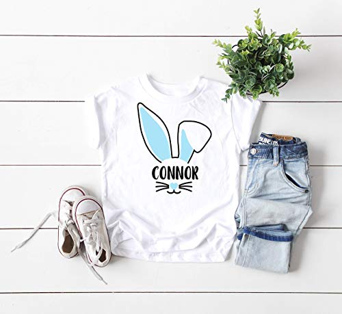 baby's first easter outfit kids shirt bunny tee personalized child t-shirt