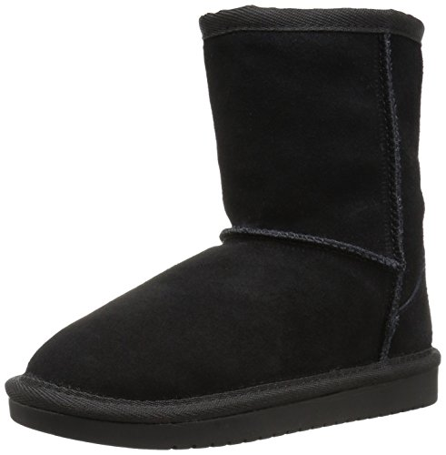 Koolaburra by UGG Girls' Koola Short Fashion Boot, Black, 13 Youth US Little Kid -