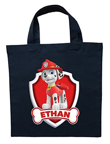[Paw Patrol Marshall Trick or Trick Bag - Personalized Marshall Halloween Bag] (Trick Or Treat Costumes Images)