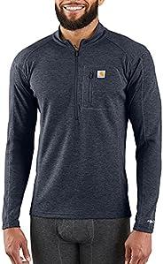 Carhartt Mens Base Force Heavyweight Quarter-Zip Thermal Base Layer Long Sleeve Shirt