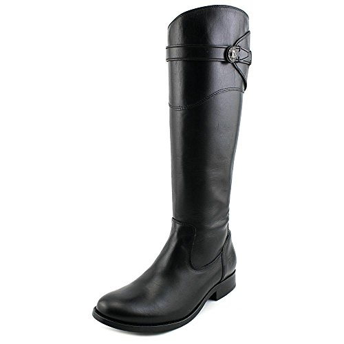Tall Boot Riding Black Button Molly Smooth FRYE Leather Women's SMVLE Vintage tH4ffq