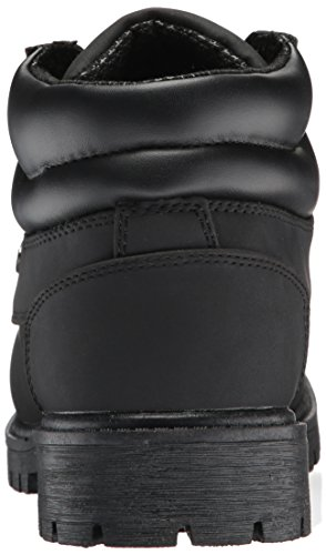 Lugz Men's Nile Mid Fashion Boot Black Durabrush outlet cheap z4uJWv