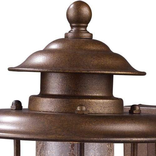Elk 62005-1 Wikshire 1-Light Outdoor Sconce, 15-Inch, Coffee Bronze