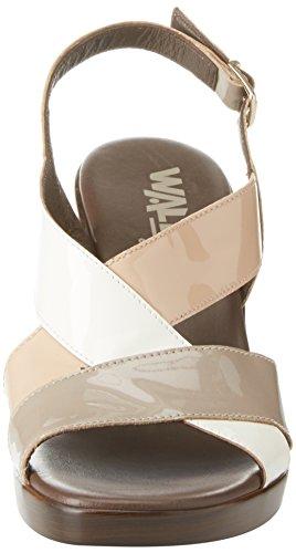 Caviglia Misca MELLUSO Beige con Donna Cinturino alla Scarpe xXaw6SaqU