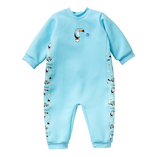 Splash About Warm in One Baby Wetsuit (6-12 Months, Noah's Ark)