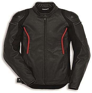 Ducati Stealth C2 piel chaqueta de Moto Negro por Dainese ...