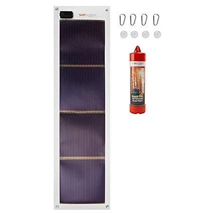Amazon.com: sunsoaker 5 W Flexible Cargador Solar: SWS ...