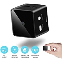 Mini Cube Camera Full HD 1080P with Motion Detection,...