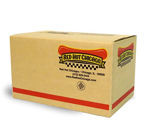 Red Hot Chicago Beef Polish Sausage 5:1 10 lbs. (approximately 50 count) (Best Polish Sausage In Chicago)