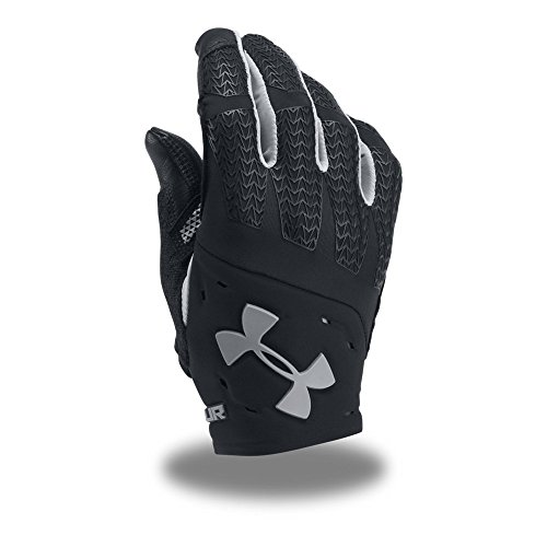 Under Armour Men's ClutchFit Renegade Training Gloves,Black /Graphite, Large (Full Finger Weightlifting Gloves)