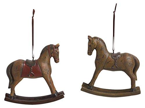 Rocking Design Horse Decorative - Vintage Design Rocking Horse 5