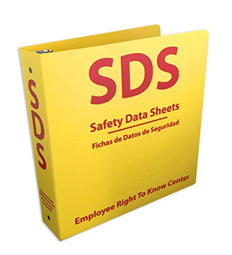 "SDS Center - Bilingual Right to Know Station - 2"" binder"