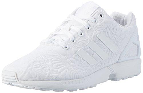 adidas Zx Flux, Zapatillas Unisex Adulto Blanco (Ftwr White/Ftwr White/Core Black)