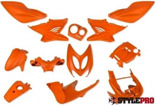 Verkleidung 12 Tlg Stylepro Nitro Aerox Orange Matt Auto