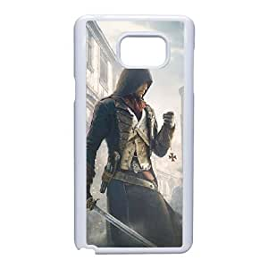 Samsung Galaxy Note 5 Phone Case White Assassin's Creed Unity ZEC906506