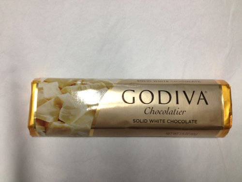 - Godiva Chocolatier / Chocolate Solid White Bars 1.5oz Each (Pack of 8)