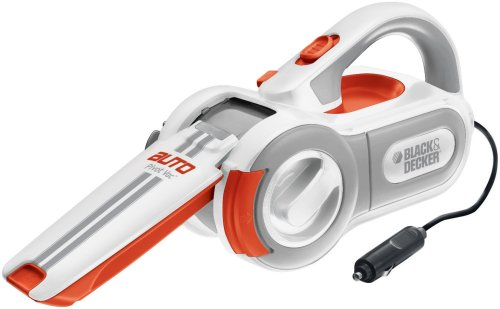 Black & Decker PAV1200W 12-Volt Cyclonic-Action Automotive Pivoting-Nose Handheld Vacuum Cleaner (Pivot Vac compare prices)