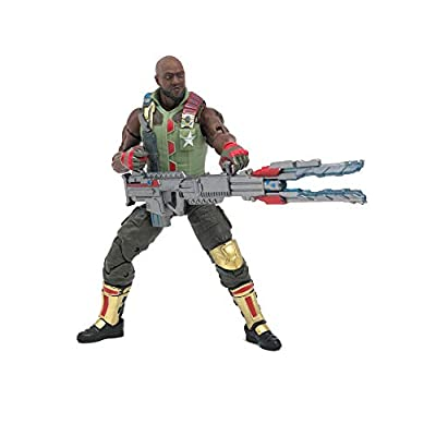 Hasbro G.I. Joe Classified Series Roadblock Action Figure 01 Collectible Premium Toy with Multiple Accessories 6-Inch Scale with Custom Package Art: Toys & Games