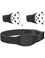 Skywin VR Tracker Belt, Hand Strap, and Protective Silicon Skins for HTC Vive System Tracker Pucks - Adjustable Belt, Straps, Protective Skins for VR Vive Trackers (1 Belt + 2 Hand Straps + 2 Skins)