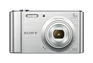 Sony W800/B 20 MP Digital Camera