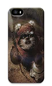 iPhone 5 5S Case Star Wars Ewok Painting Art 3D Custom iPhone 5 5S Case Cover