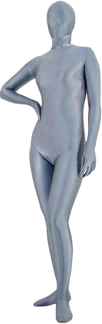 Seeksmile Unisex Fancy Full Body Lycra Spandex Opaque Zentai Suit
