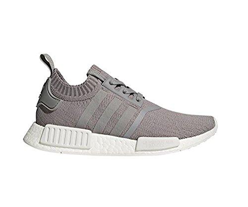 adidas Originals Women's NMD_R1 W PK Sneaker, Grey Three/Grey Three/White, 9 M US