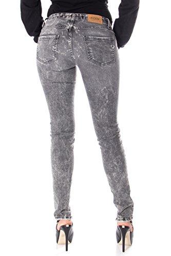 P90 Fit Donna Strappato Jeans Grigio Slim P90cfo2zd1 Please wqFE16T