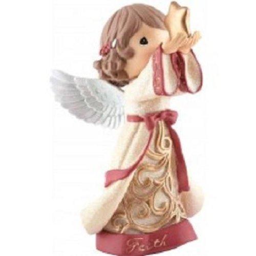Angel Holding Star Figurine - Precious Moments Figurine-Faith Angel Holding Star-LED Light (7