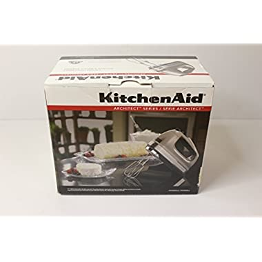 KitchenAid Architect Series 7 Speed Hand Mixer (Cocoa Silver), KHM7210ACS