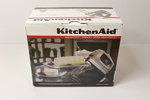 KitchenAid Architect Series 7 Speed Hand Mixer (Cocoa Silver), KHM7210ACS For Sale