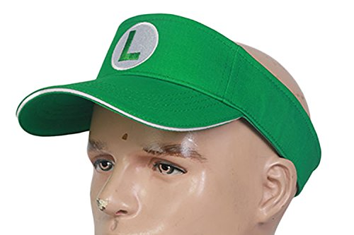 Luigi Tennis Aces Hat Dressing Up Headwear One Piece -